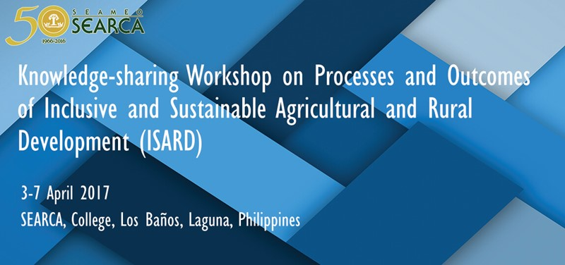 Knowledge-sharing Workshop on Processes and Outcomes of ISARD