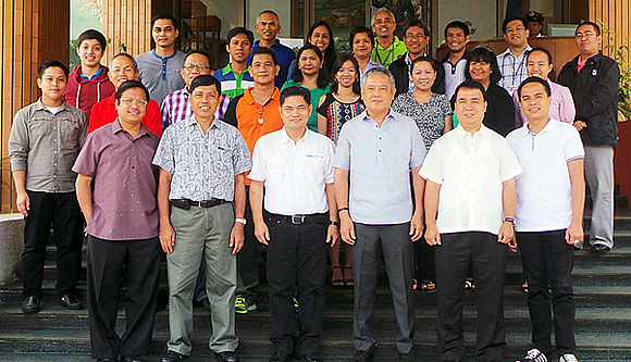 The facilitators and participants of the Philippines 2nd National Consultative Meeting held on 14 April 2014 at SEARCA Headquarters, Los Baños, Laguna