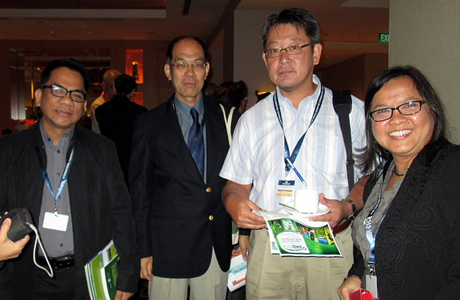 Southeast Asian University Consortium on Agriculture and Natural Resources (UC) representatives during the ICAFS 2014.