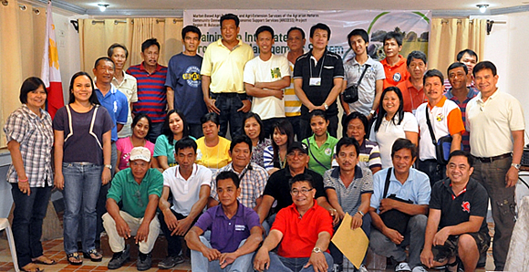 The participants of the Training on Integrated Production Management System, Vegetable Production Part held on 28 February to  1 March 2014 at the Malolos Resort Club Royale, Malolos, Bulacan.