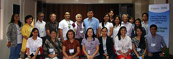 Participants of the focus group discussion held on 24 March 2014 at Sam Arng Srinilta Room, SEARCA.