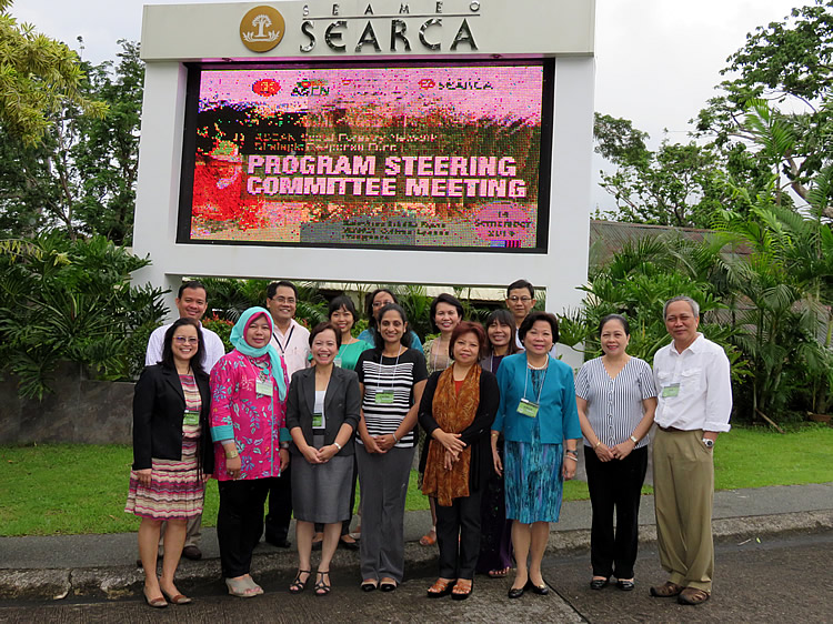 Members of the ASRF PSC with SEARCA Officials and Staff.
