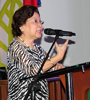 Dr. Virginia R. Cardenas, SEARCA Deputy Director for Administration