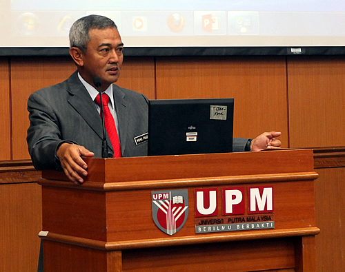 Prof. Dato Dr. Mohd. Fauzi Hj. Ramlan, UPM Vice Chancellor and the current Chair of the SEARCA Governing Board