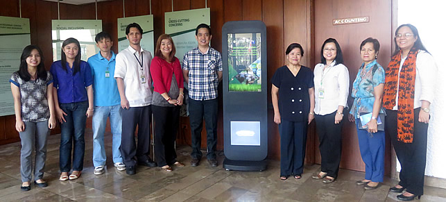 The Project Team with Dr. Liza Battad and Mr. Eric Palacpac of PCC