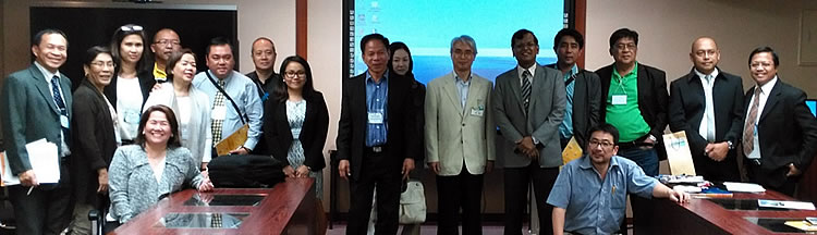 The Philippine delegation with Yuju Aoyagi, Executive Director of Control and Inspection Department, Environment Bureau, Kitakyushu, who provided the orientation on Ecotown Projects in Japan.