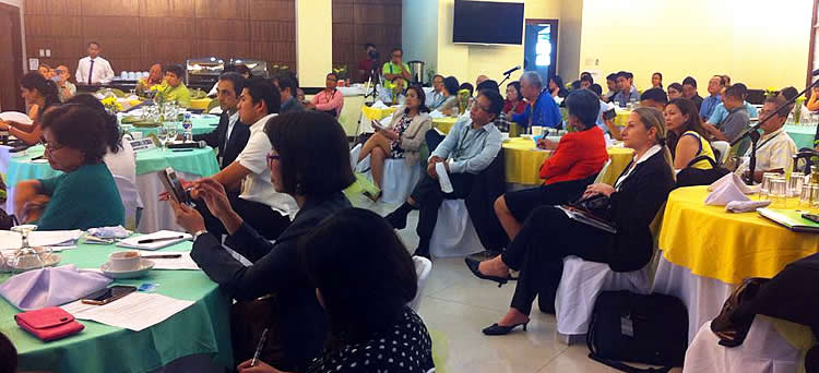 Participants to the Philippines Partnership for Sustainable Agriculture General Meeting, DA-ATI, 10 November 2015