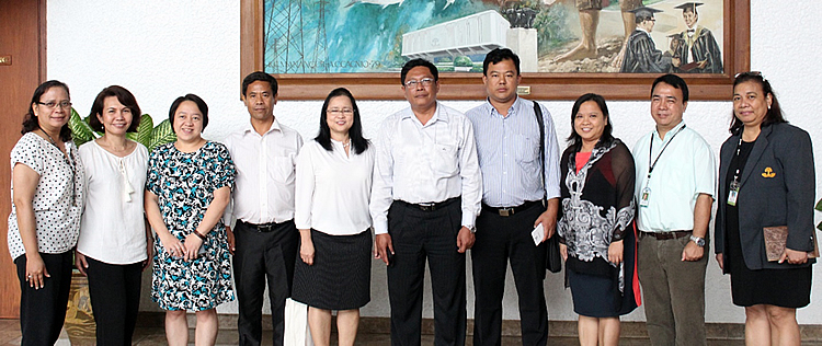 myanmar governing board member visits searca
