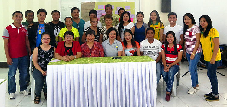 PRA Participants with SEARCA ISARD Team in Victoria, Oriental Mindoro