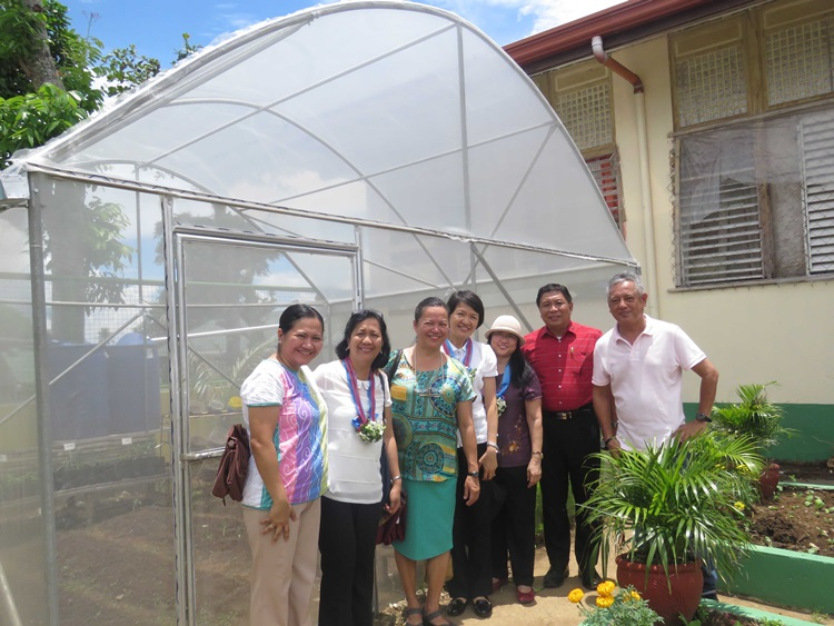 school and home gardens as learning sites and source of nutritious food and income launches in laguna philippines 8