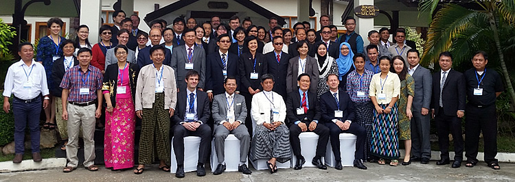 Speakers, participants and guests of the OECD-FAO-ASEAN Regional Conference on Policies to Enable Food Security, Agricultural Productivity and Improved Nutrition, Hotel Amara, Nay Pyi Taw, Myanmar, 14-15 June 2016