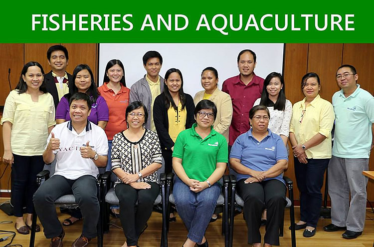 The participants from Fisheries and Aquaculture [br] (SOURCE: DA-BAR)