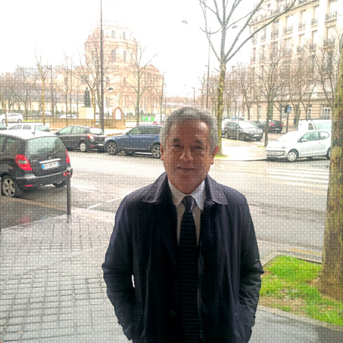 SEARCA Director Dr. Gil C. Saguiguit, Jr. in Paris.