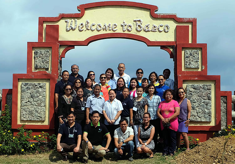 "Participants of the ""Training of Trainers in Writing Effective Knowledge Products"" held on 18 – 21 April 2016 at Basco, Batanes."