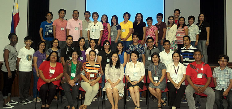 Participants of the writeshop with the SEARCA-UPLB Project Management Team