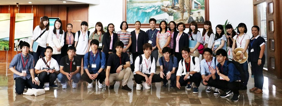 Tokyo NODAI bio-business students receive briefing on SEARCA's programs and activities