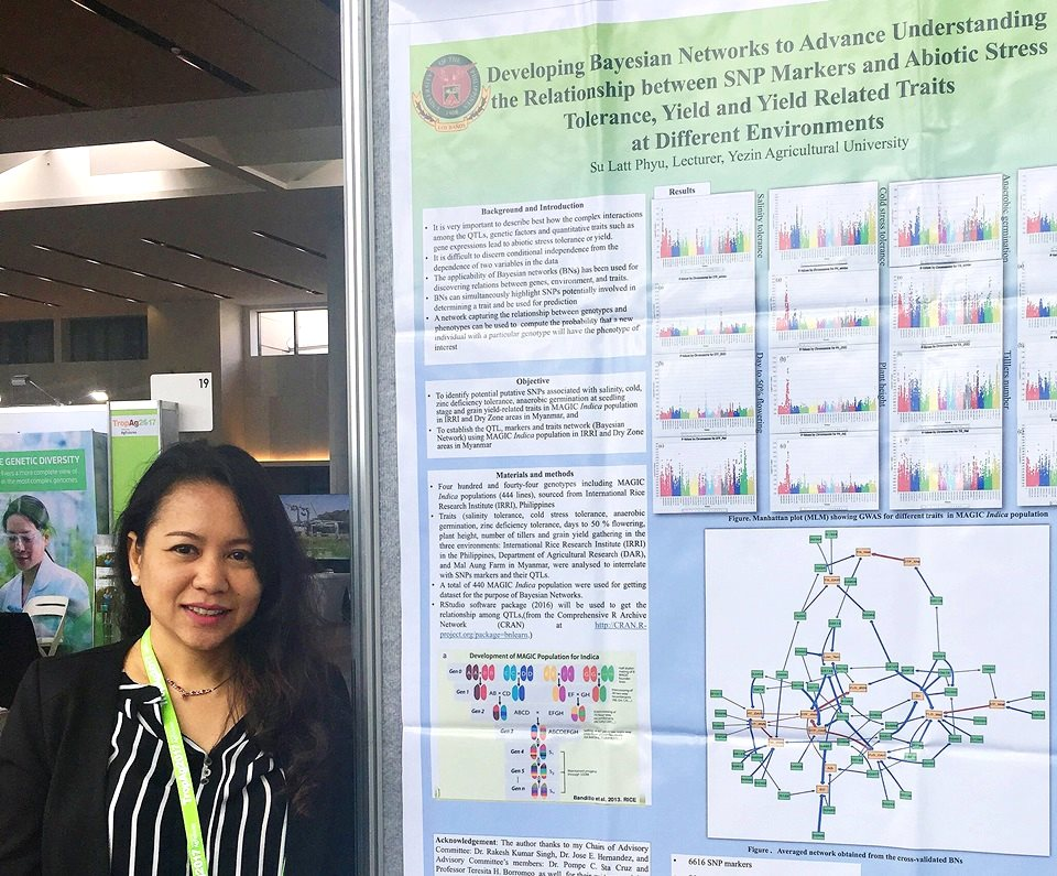 SEARCA Alumna Participates at the TropAg 2017 Conference in Australia