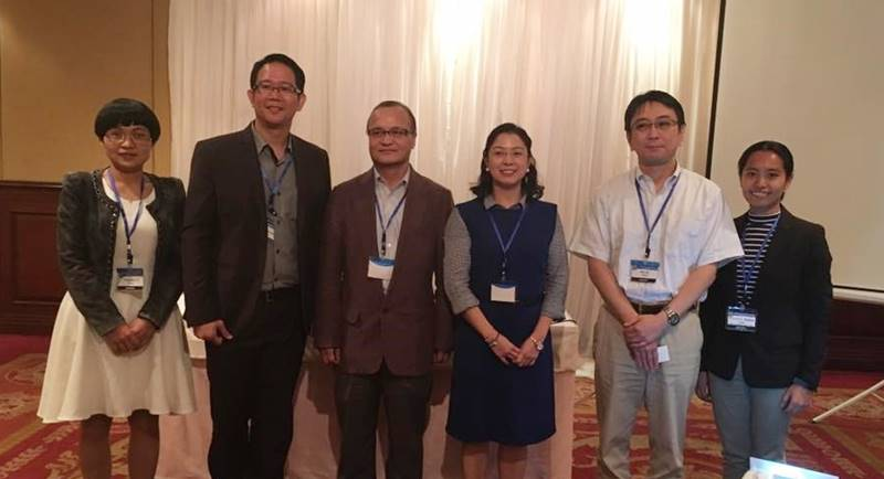 Dr. Ravago together with the other session presenters from China, Japan, and Ghana, and session chairs from Thailand and the Philippines.