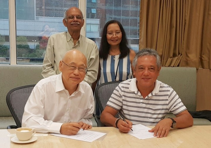 the head foundation and searca ink mou