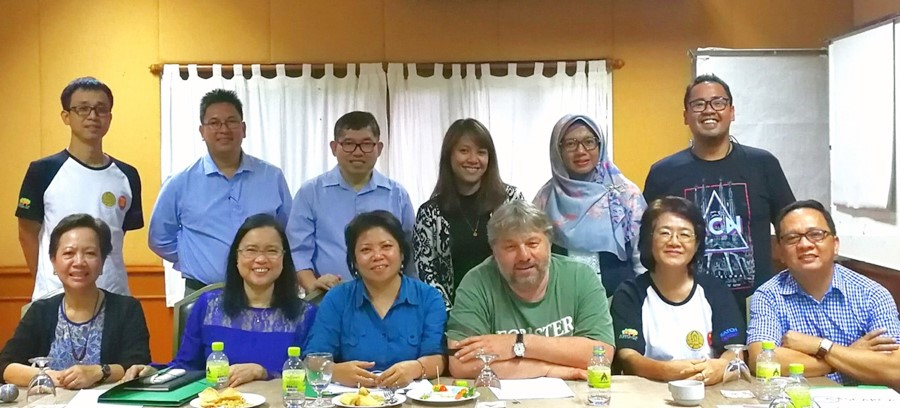The ASRF PSC members and resource persons during the meeting in Chiang Mai, Thailand