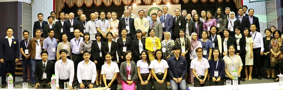 Participants during the first day of the Regional Workshop on Mainstreaming Biodiversity in Agriculture for Sustainable Development and Food Security in SEA in Maejo University, Chiang Mai, Thailand, led by the ACB Executive Director, Atty. Roberto V. Oliva and Maejo University President, Dr. Chamnian Yosraj.