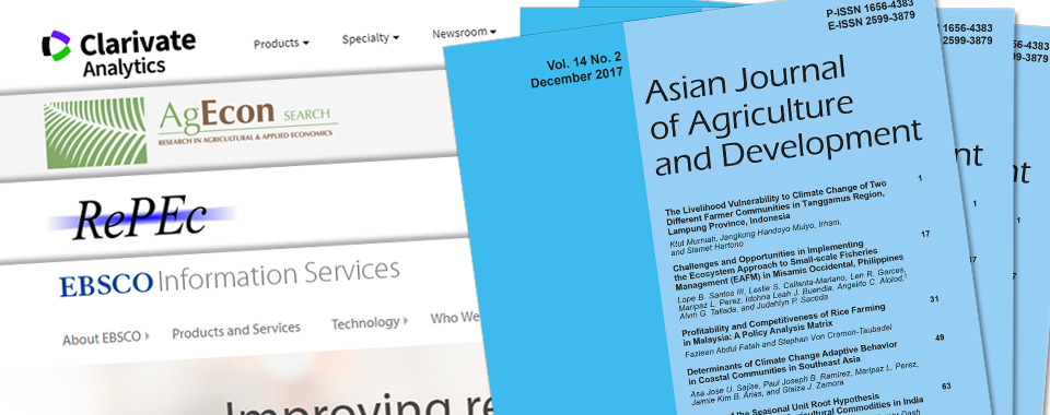 Access to published agriculture papers on Asia expanded online