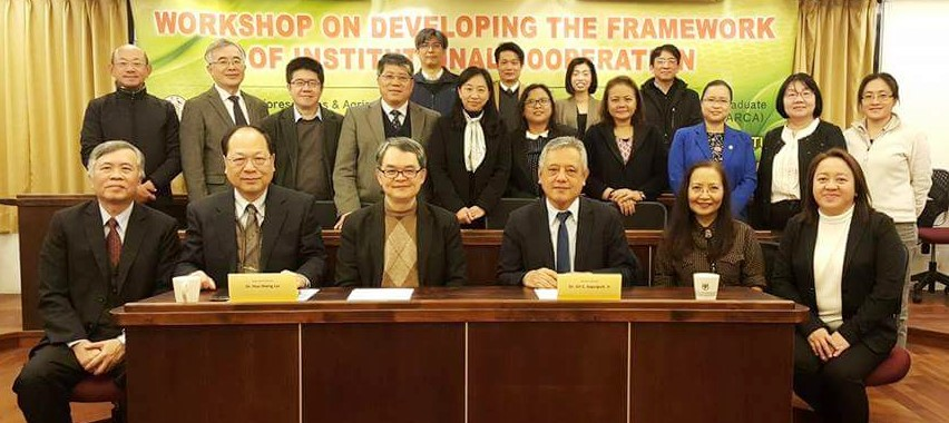 SEARCA, NTU develop framework for institutional cooperation