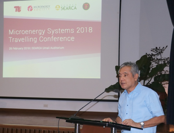 SEARCA, UPLB explore partnerships with Microenergy Systems (MES) Research Group of Technical University Berlin