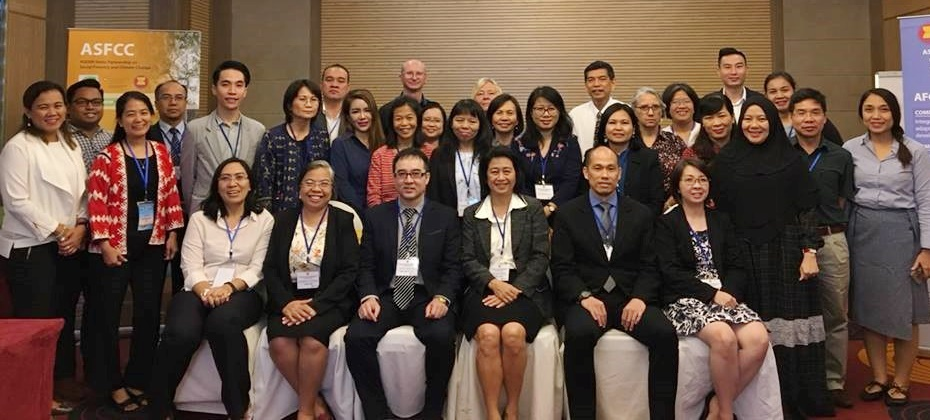 The ASEAN Working Group on Social Forestry (AWG-SF) Leaders and Focal Points with the ASFCC Partners.