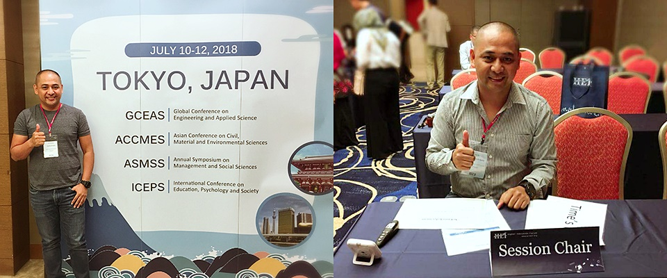 SEARCA Scholar presents thesis result in Japan