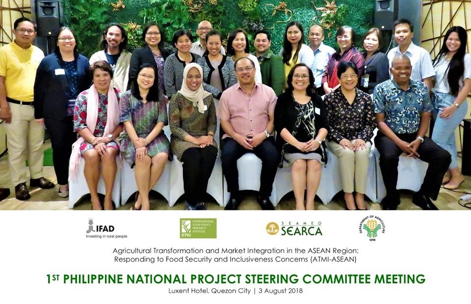 ATMI-ASEAN and DA organize 1st National Project Steering Committee Meeting in the Philippines