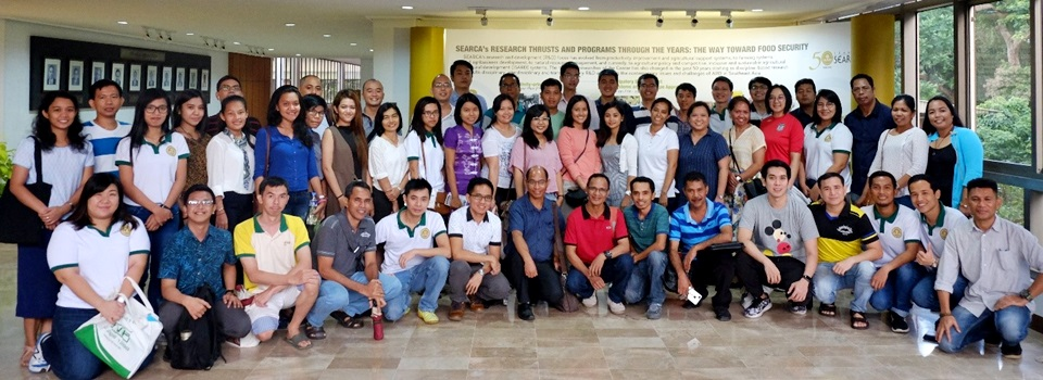 New and continuing SEARCA scholars at UPLB oriented