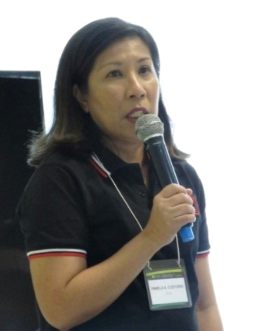 Dr. Pamela A. Custodio, Assistant Professor 5 from the UPLB-CDC, presented the highlights and progress of the case study focusing on learning organizations.