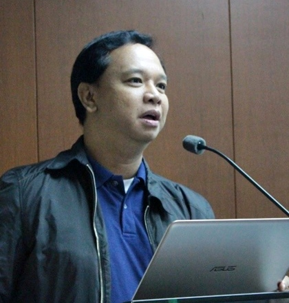 Mr. Glenn T. Dimayuga, Project Development Officer III of the DA-BAR Technical Commercialization Division talked about the National Technology Commercialization Program (NTCP).