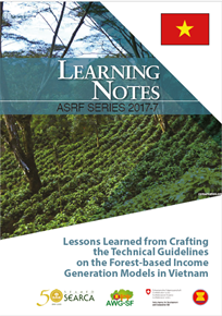 Lessons Learned from Crafting the Technical Guidelines on the Forest-based Income Generation Models in Vietnam