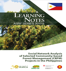 Social Network Analysis of Selected Community-based Forest Management (CBFM) Projects in the Philippines