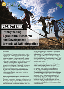 Project Brief: Strengthening Agricultural Research and Development Towards ASEAN Integration