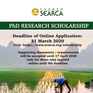 PhD Research Scholarship