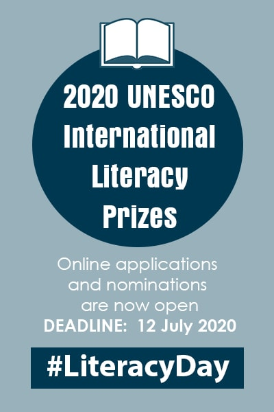 2020 UNESCO International Literacy Prizes