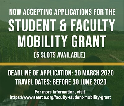 2020 Faculty and Student Mobility Grant