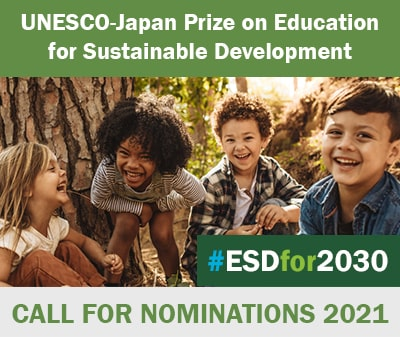 UNESCO-Japan Prize on Education for Sustainable Development (ESD)