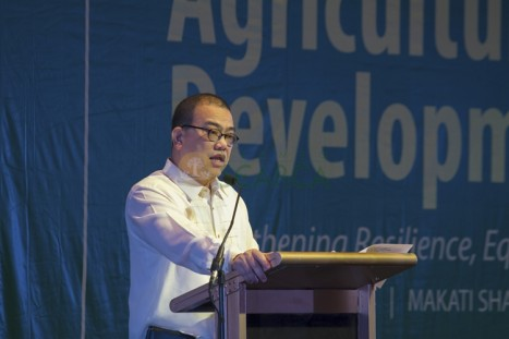 Hon. Virgilio De los Reyes, Secretary for Agrarian Reform of the Philippines, delivered the keynote address of Pres. Benigno S. Aquino III.