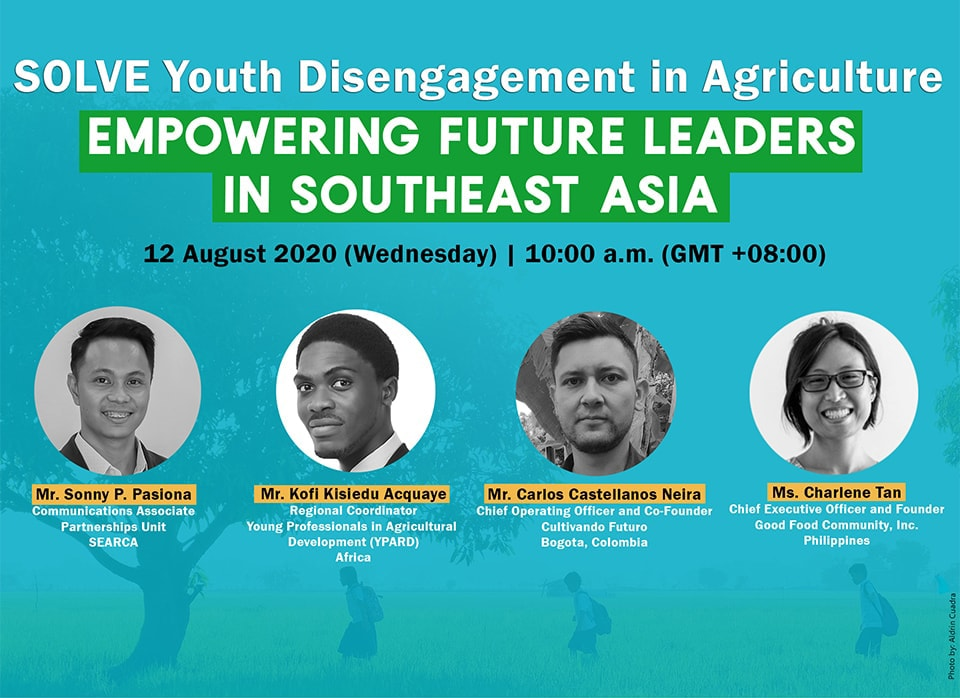 14th Webinar: SOLVE Youth Disengagement in Agriculture: Empowering Future Leaders in Southeast Asia