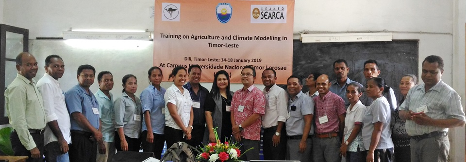 SEARCA conducts short course on cropping systems for Timorese lecturers, researchers