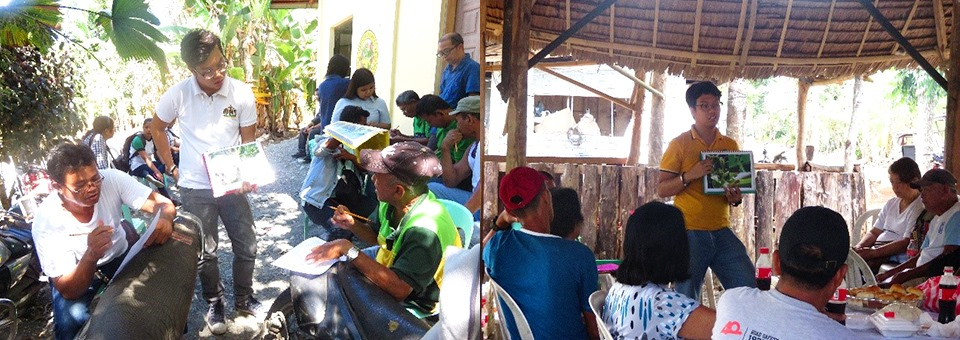 Conduct of FGDs with farmer-groups in Victoria and Pola, Oriental Mindoro
