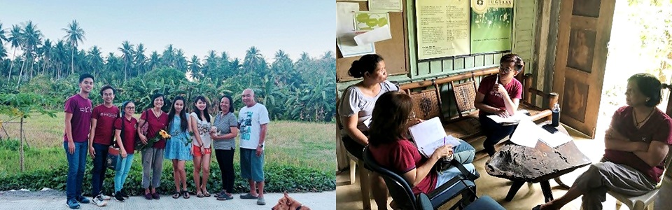 Interview with the calamansi processing plants in San Teodoro (left) and Naujan (right), Oriental Mindoro