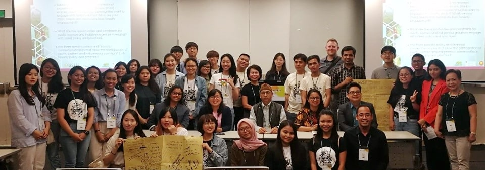 Group photo of participants who attended Session 5: Youth and Gender Inclusion in Forestry