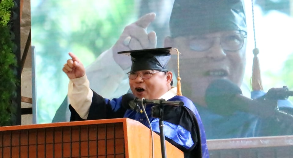 You should become leaders of your institutions, SEARCA alumnus exhorts UPLB graduates
