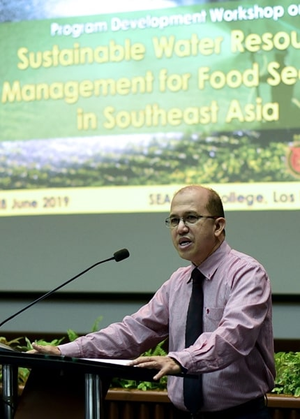 Workshop toward sustainable water resources management held