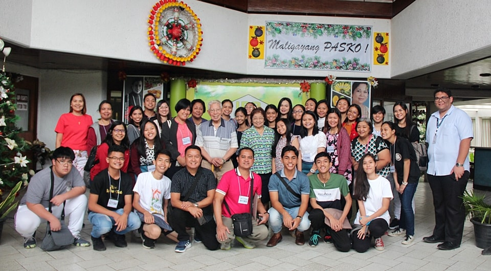 The group got to meet National Scientists, Dr. Ricardo Lantican and Dr. Dolores Ramirez during their visit to UPLB-IPB